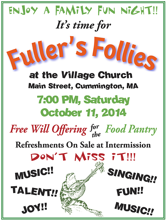 Fullers Follies poster